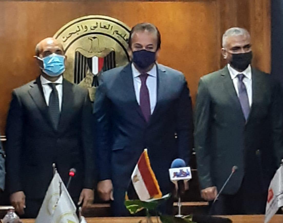 بروتوكول تعاون بين جامعة الملك سلمان الدولية وبنك القاهرة