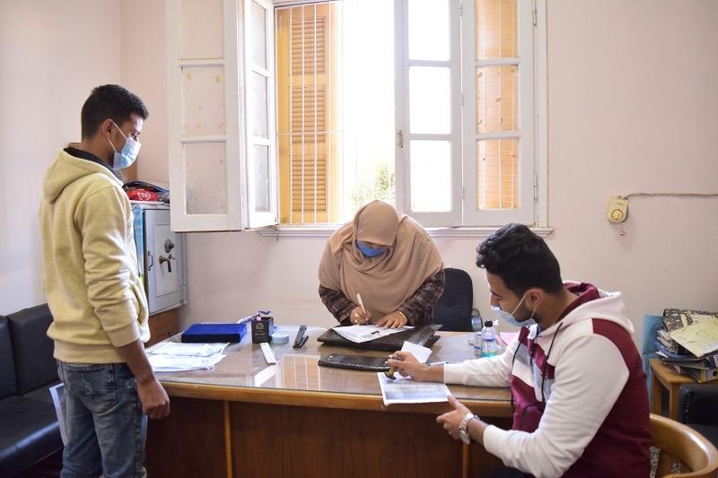 وسط إجراءات احترازية مشددة.. فتح باب الترشيح لانتخابات اتحاد الطلاب بجامعة بني سويف