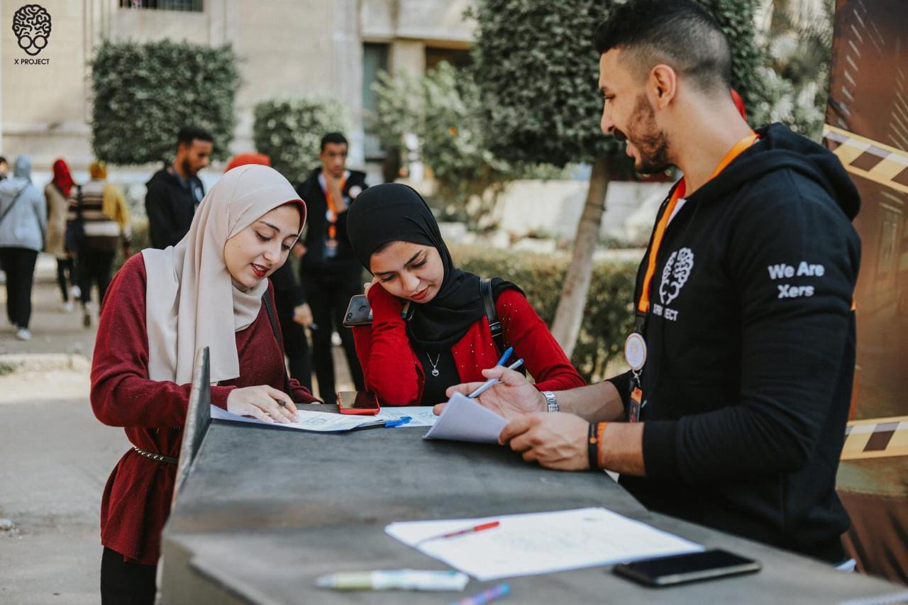 «X project» فريق طلابي بجامعة القاهرة يفتح باب التقدم للموسم الجديد