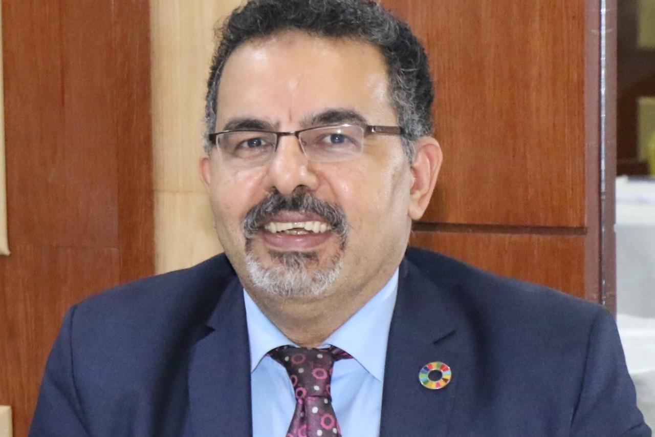الدكتور عاطف الشبراوي، خبير وأستاذ الابتكار وريادة الأعمال بمركز الابتكار بالجامعة