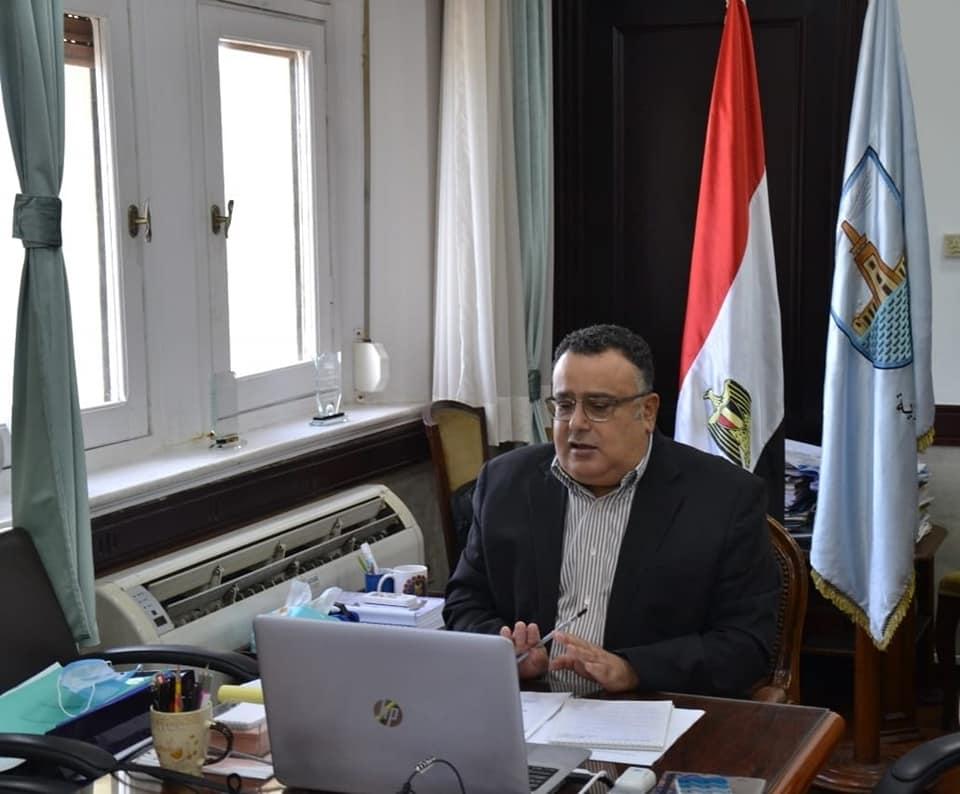 جامعة الإسكندرية تناقش استعدادات اختبارات الفصل الدراسي الأول