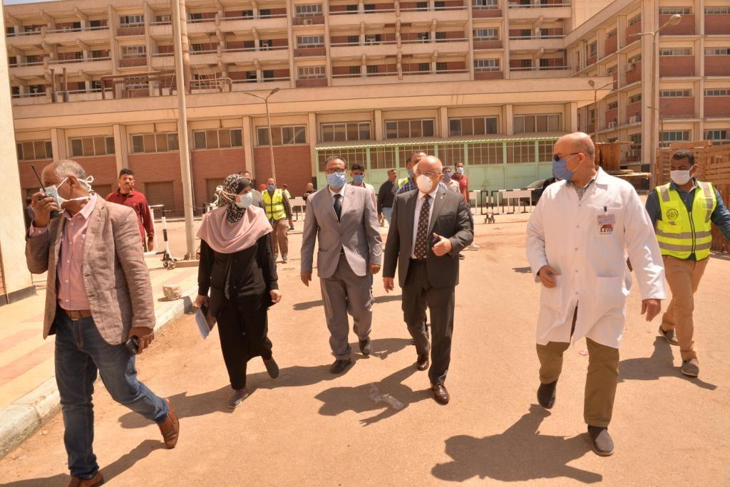 جامعة أسيوط تعلن حصاد المستشفى الجامعي الرئيسي خلال 2020