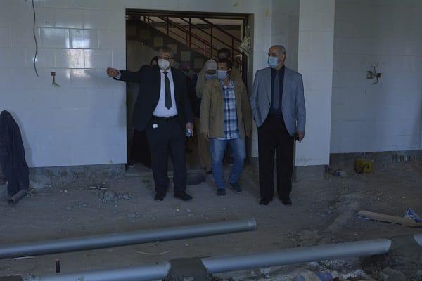 رئيس جامعة الفيوم: تجهيز مبنى طب الأسنان الجديد بأحدث الوسائل