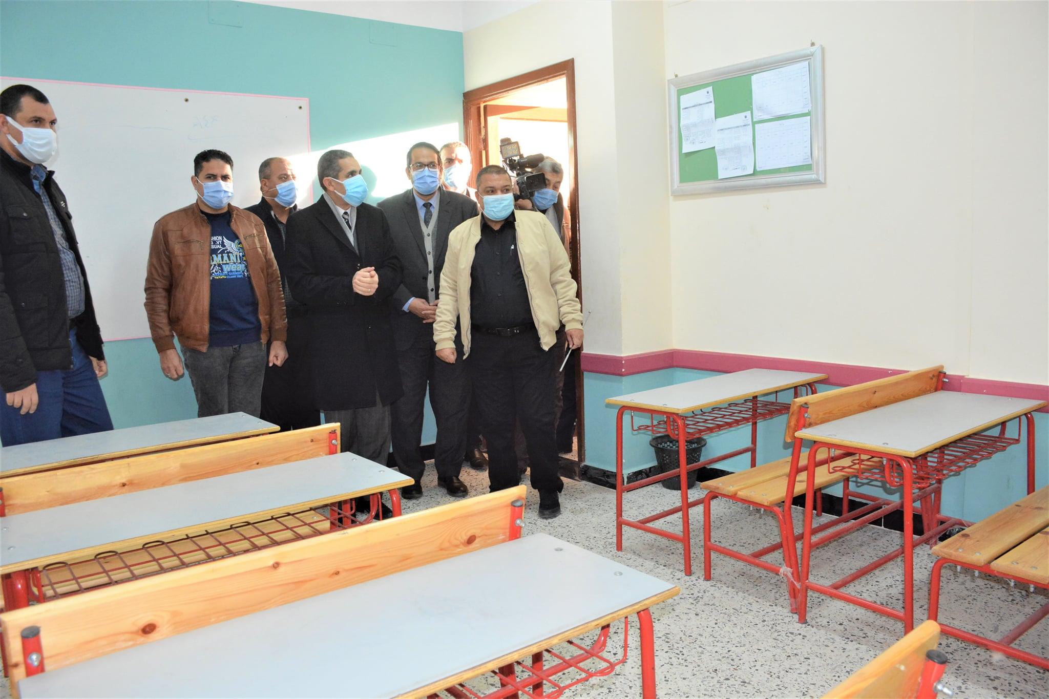 بتكلفة 3 مليون و 488 ألف جنيه محافظ الغربية يفتتح مدرسة الغياتي