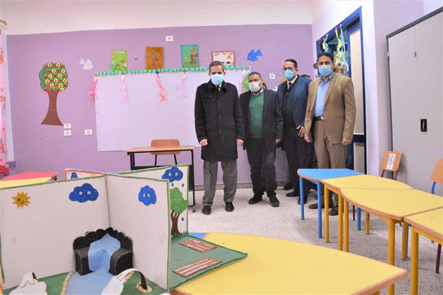 """محافظ الغربية يفتتح 3 مدارس ومسجدين بمركز زفتى """"صور"""""""