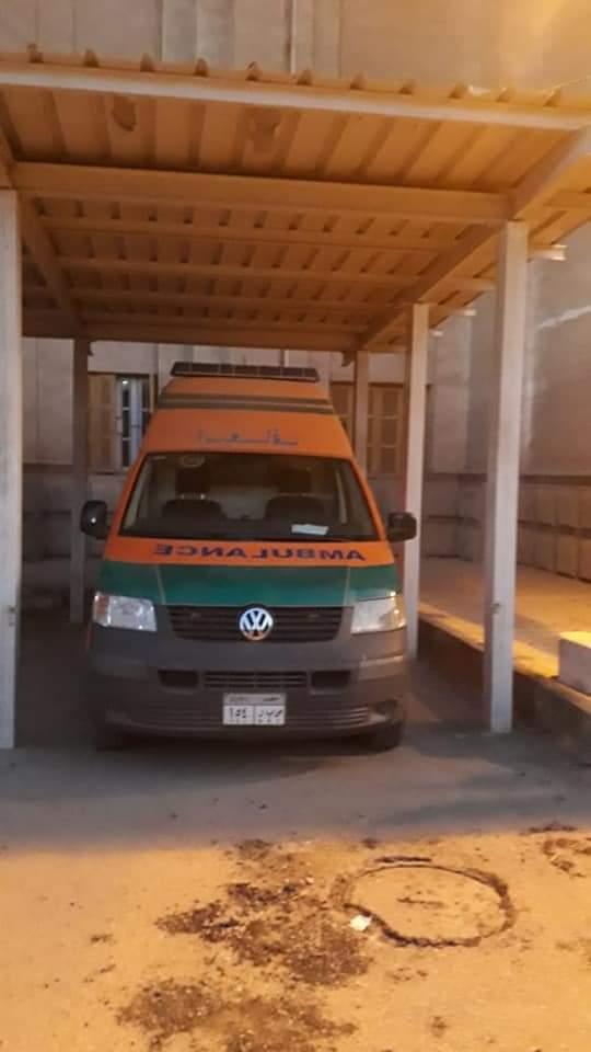 وحدة إسعاف جديدة داخل جامعة بني سويف