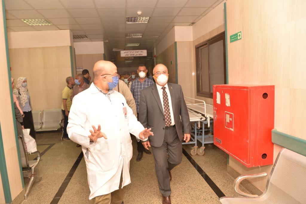جامعة أسيوط: استقبلنا 204 مريض كورونا خلال 4 شهور في 2020