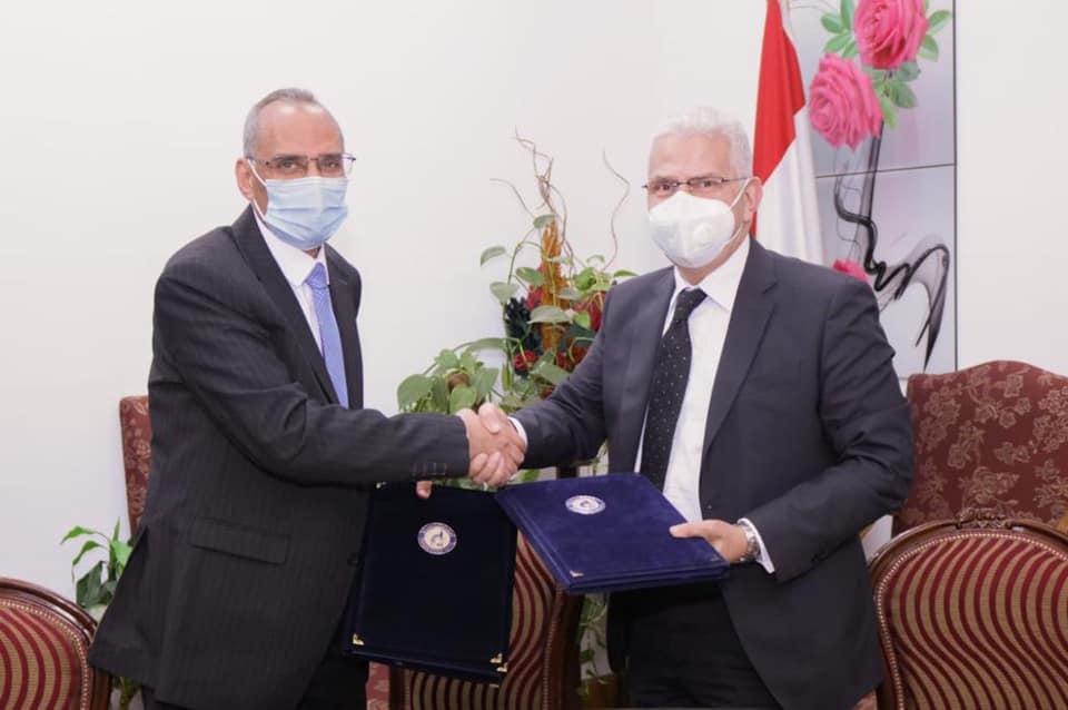 توقيع بروتوكول تعاون مشترك بين جامعة طنطا والمركز القومي للبحوث