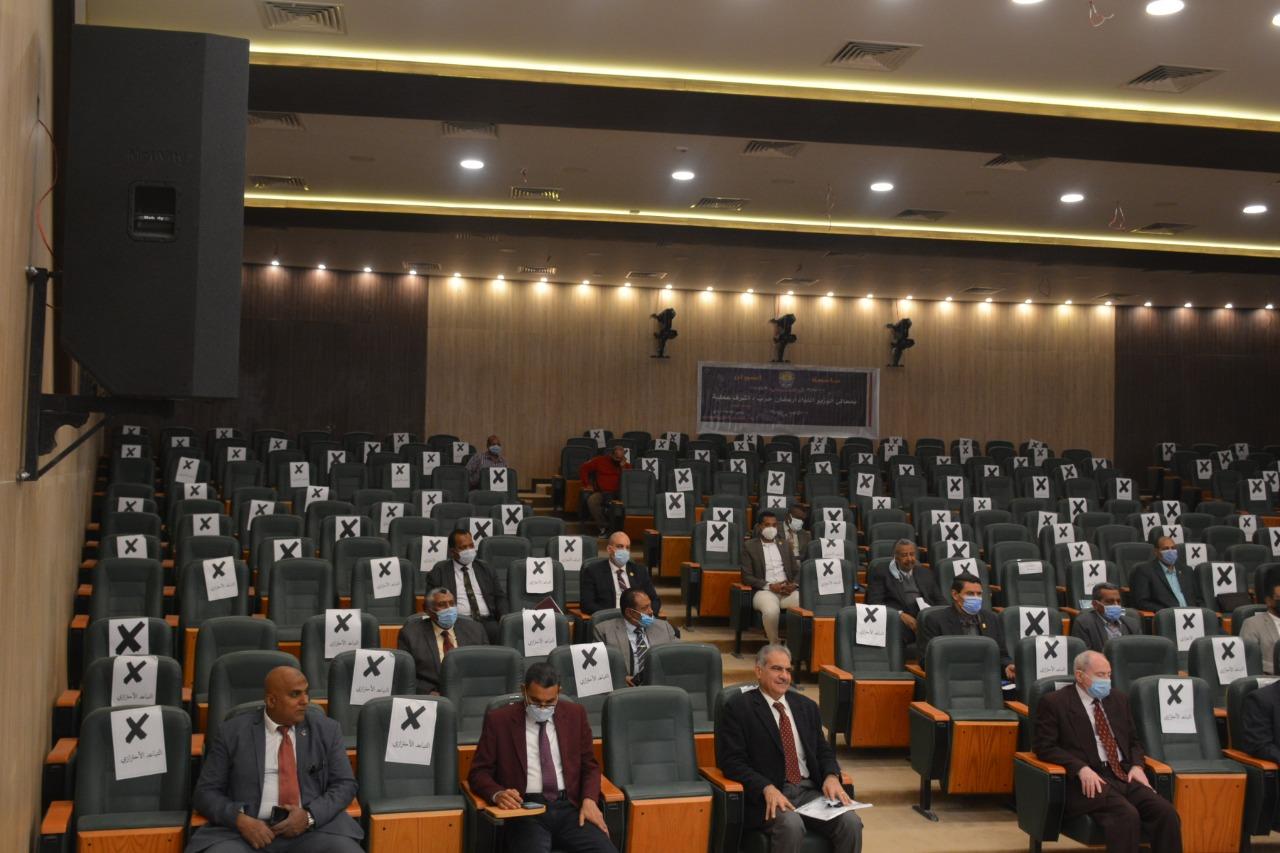 جامعة أسوان تعلن خطة استعداداتها لامتحانات الفصل الدراسي الأول