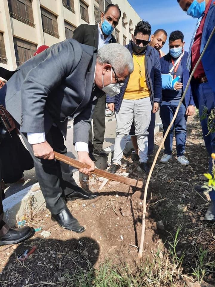 جامعة طنطا تفتتح فعاليات الاحتفال باليوم الوطني للبيئة