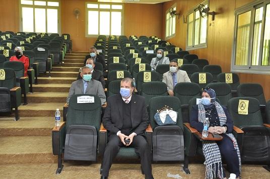جامعة كفرالشيخ: الانتهاء من إجراءات اختبارات نهاية الفصل الدراسي الأول