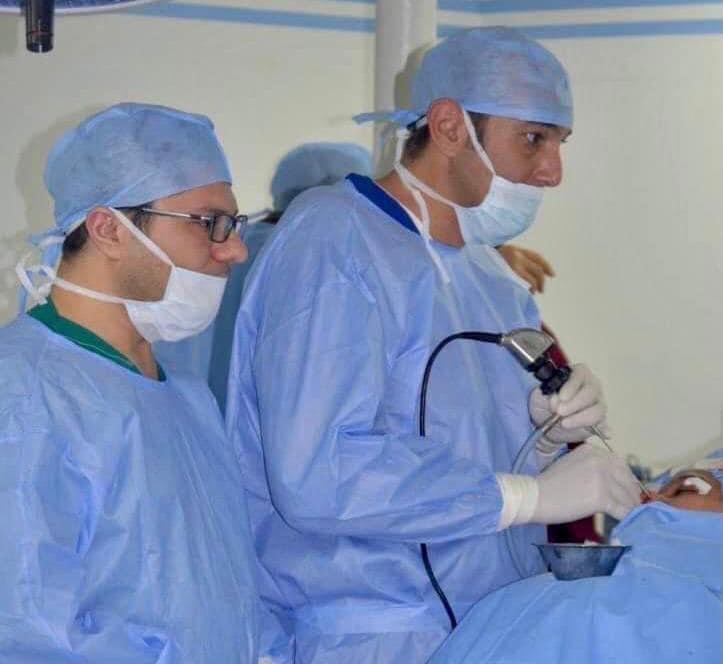 بالمنظار وبدون جراحة.. استئصال ورم بجمجمة طفل بمستشفى طنطا الجامعي