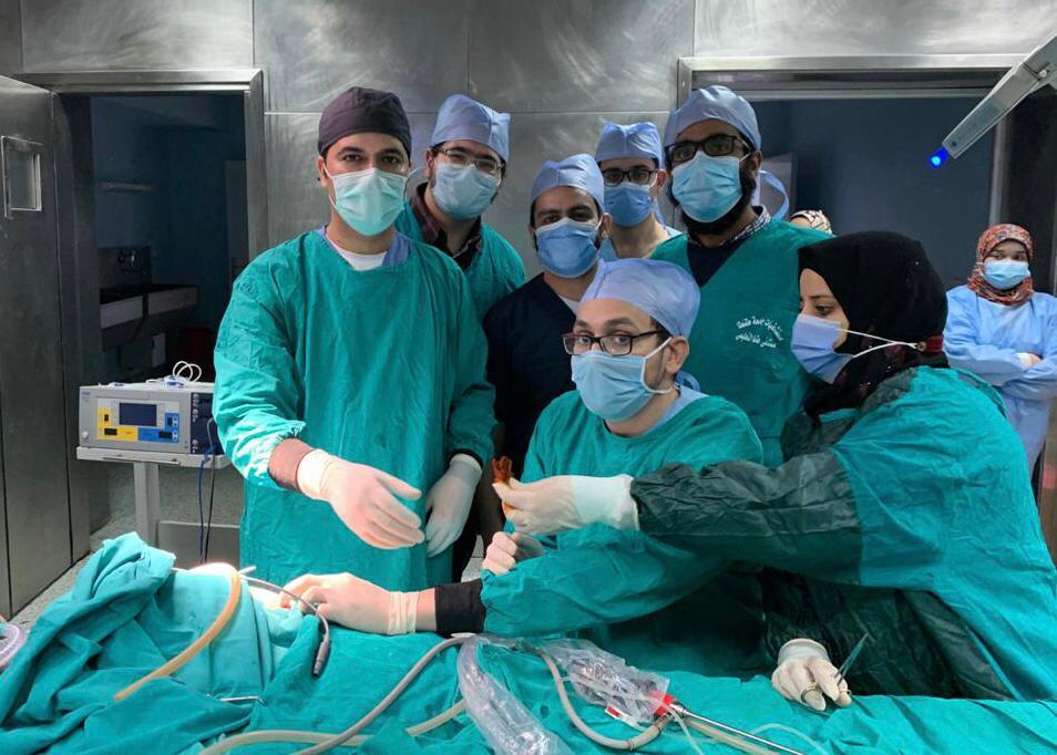 جراحة نادرة لرضيع عمره ٥ أيام تنقذ حياته بـ«المستشفى التعليمي»