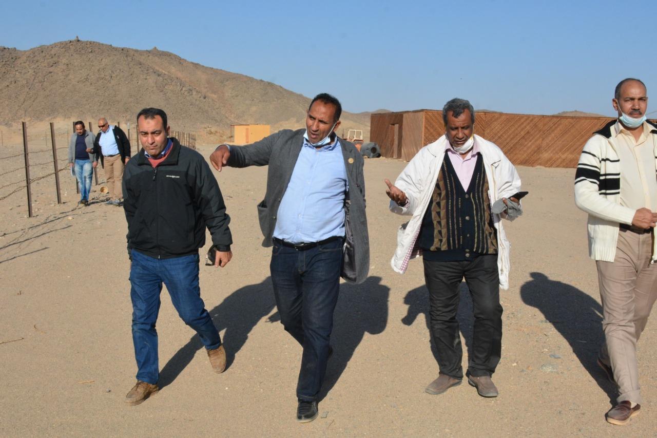 جامعة أسوان تنظم أكبر قافلة طبية شاملة لقرية العلاقي بحدود مصر