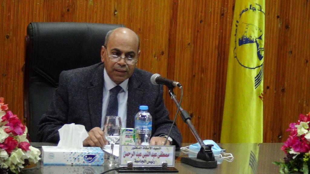 افتتاح وحدة العناية المركزة المجهزة بمستشقى جامعة المنيا