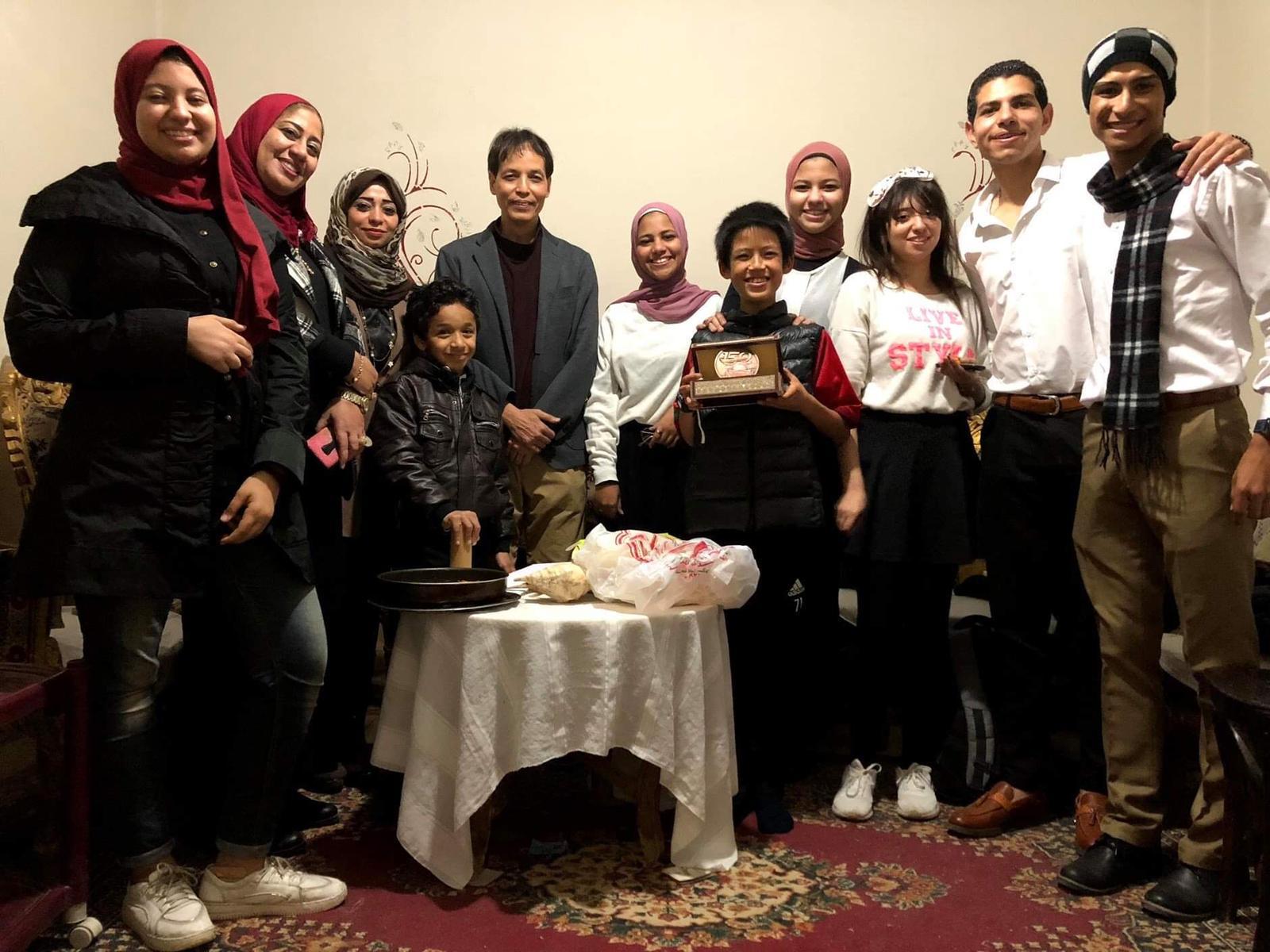 """طفل مصر يفوز بجائزة أفضل مشروع تعليمي في اليابان """"صور"""""""