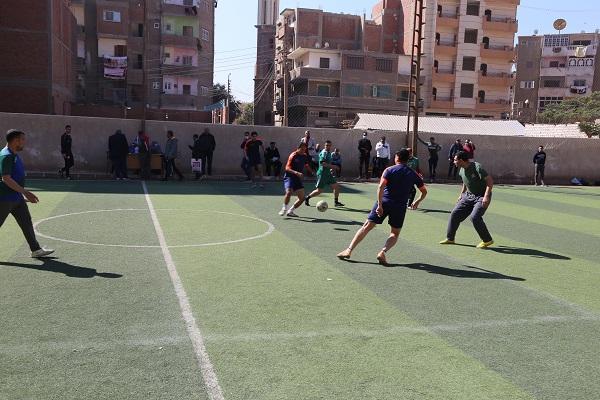فريق جامعة الفيوم لكرة القدم يشارك في دورة المصالح الحكومية ٢٠٢١