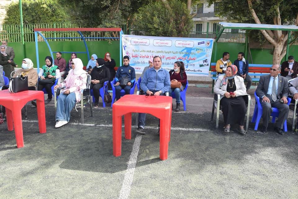 «تربية نوعية سوهاج» تختتم معسكرها التدريبي الرياضي الأول وتكرم المشاركين