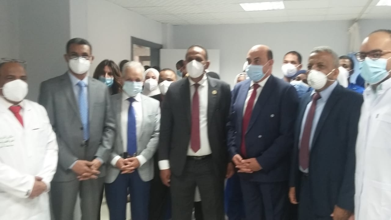 افتتاح وحدة العناية المركزة بالمستشفى الجامعي بجامعة أسوان |صور