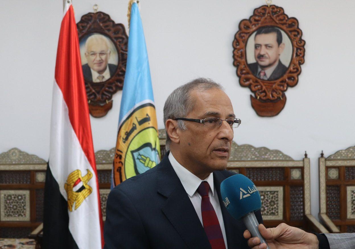رئيس وكالة الفضاء المصرية: جامعة الأزهر من أعرق الجامعات.. نرحب بالتعاون معها