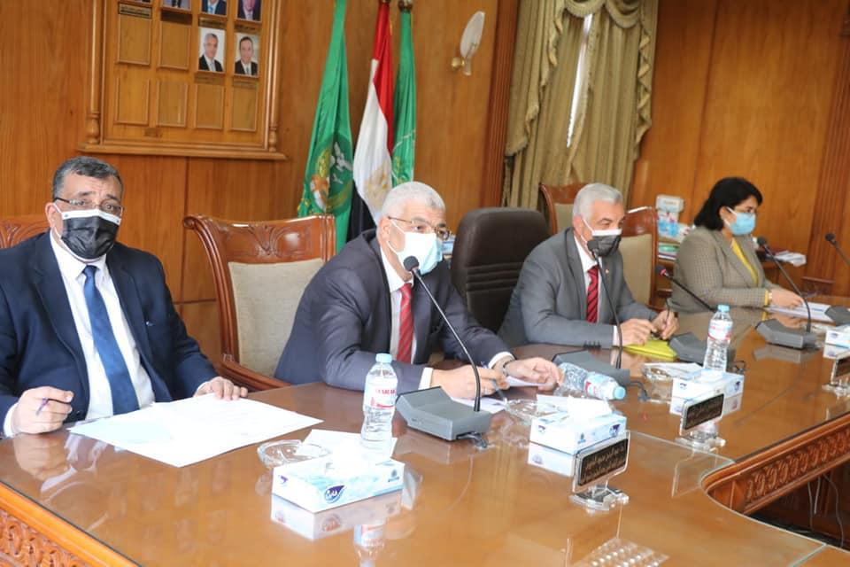 جامعة المنوفية: هدم وتجهيزات مزرعة طوخ طنبشا لإنشاء الجامعة الأهلية