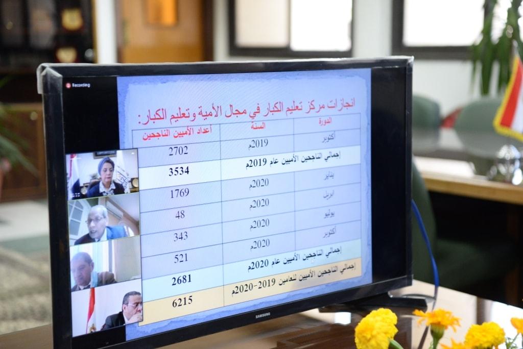 جامعة أسيوط تحصد المركز الرابع على مستوى الجامعات في محو أمية 5444 مواطنا