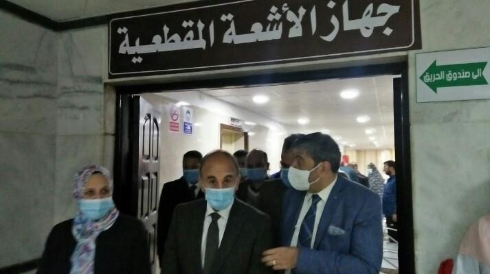 بتكلفة 10 مليون جنيه.. جامعة الزقازيق تفتتح جهاز الأشعة المقطعية بمستشفى العزل 2