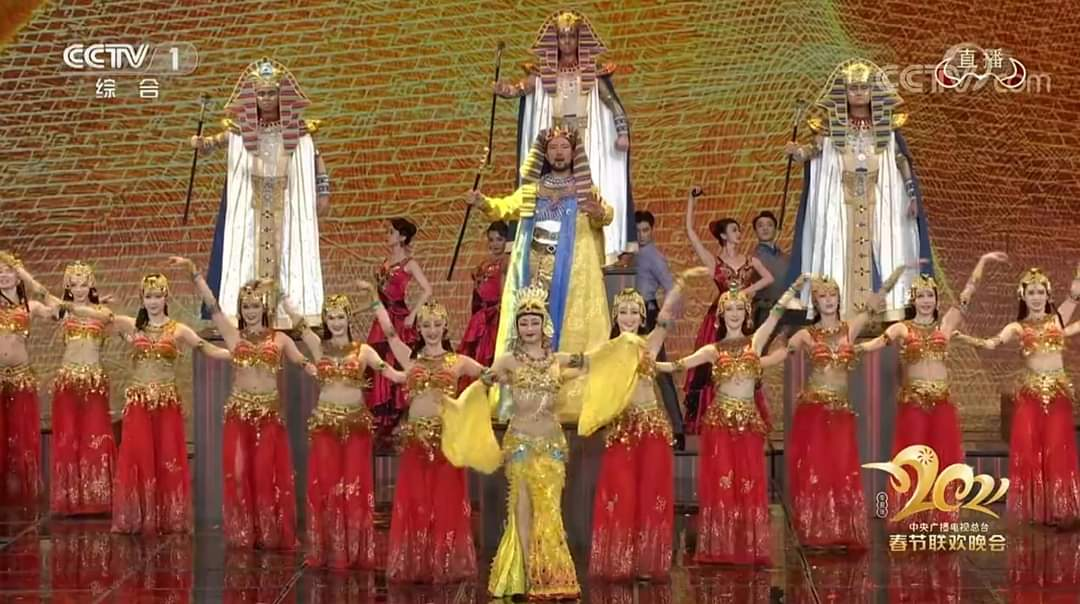 احتفالية عيد الربيع الصيني وعروض مصرية لتبادل الثقافات