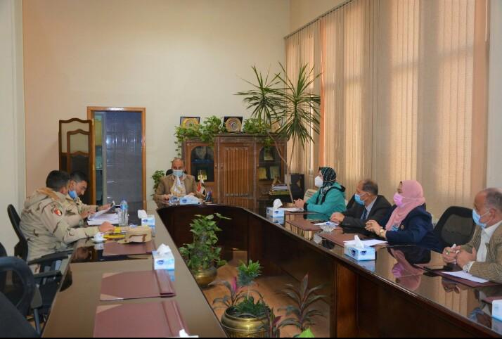 بروتوكول تعاون بين جامعة الزقازيق والشعبة الهندسية بقيادة الجيش الثاني الميداني