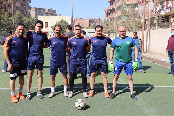 فريق جامعة الفيوم لكرة القدم