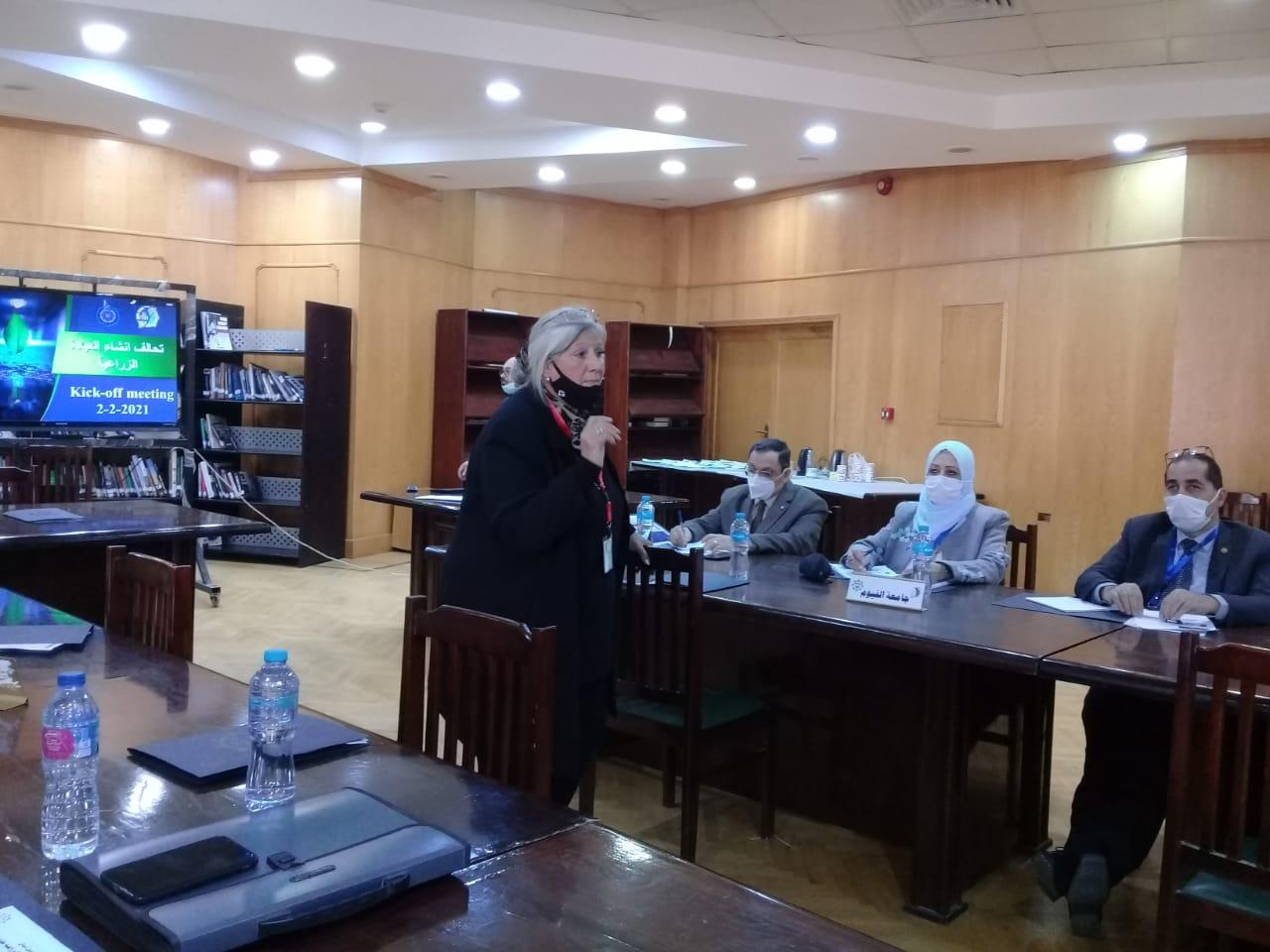 جامعة الفيوم: إطلاق تحالف مشروع العيادة الزراعية