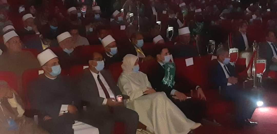 رئيس تطوير الوافدين تشارك في فعاليات افتتاح مسابقة بورسعيد الدولية لحفظ القرآن الكريم