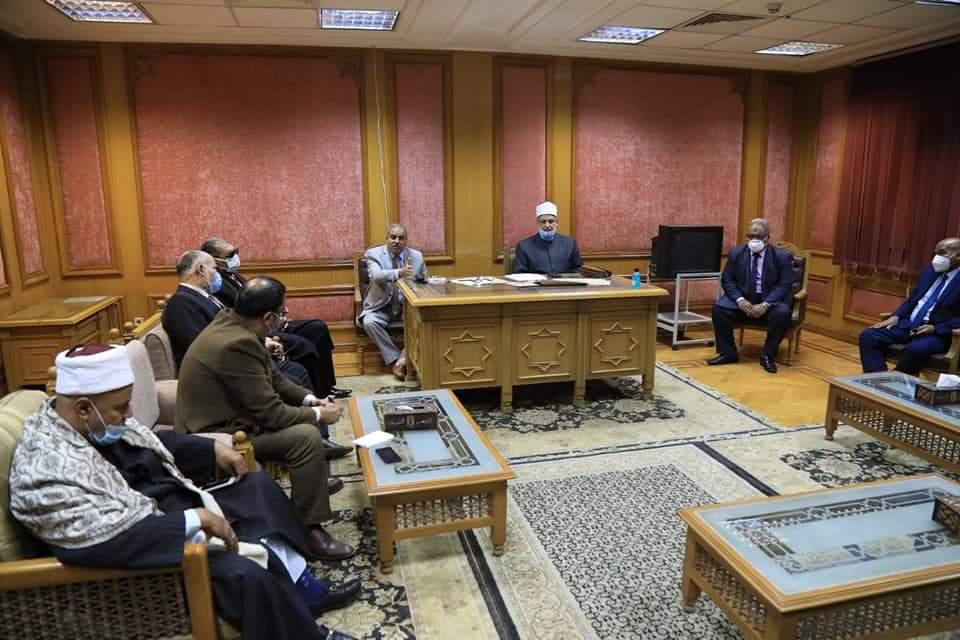 المحرصاوي يشارك في لقاءات اختيار مبعوثي الأزهر لدول العالم