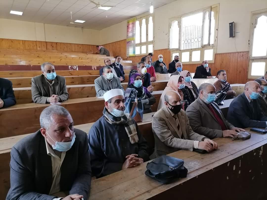 منطقة كفر الشيخ الأزهرية تعقد اجتماعًا لاستعدادات الامتحانات