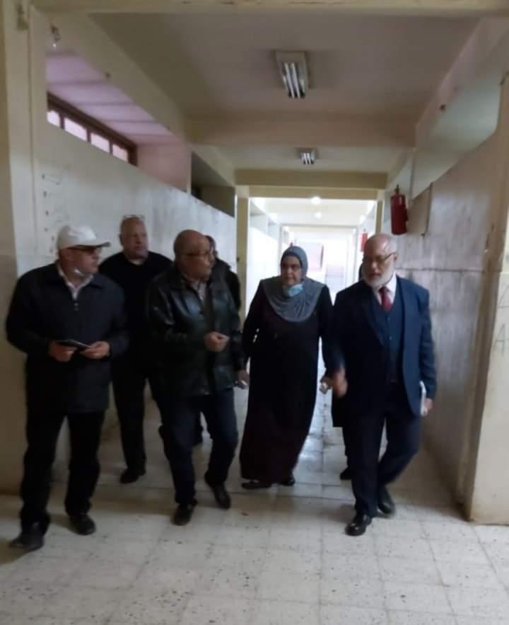 الأمين العام المساعد لجامعة الأزهر يتفقد المدن الجامعية بأسيوط في ثاني أيام التسكين