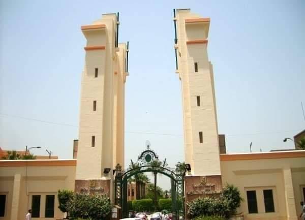 المدن الجامعية بجامعة القاهرة