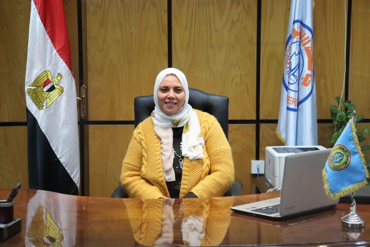 انتصار الطويل مدير إدارة خدمة المواطنين بجامعة الأزهر