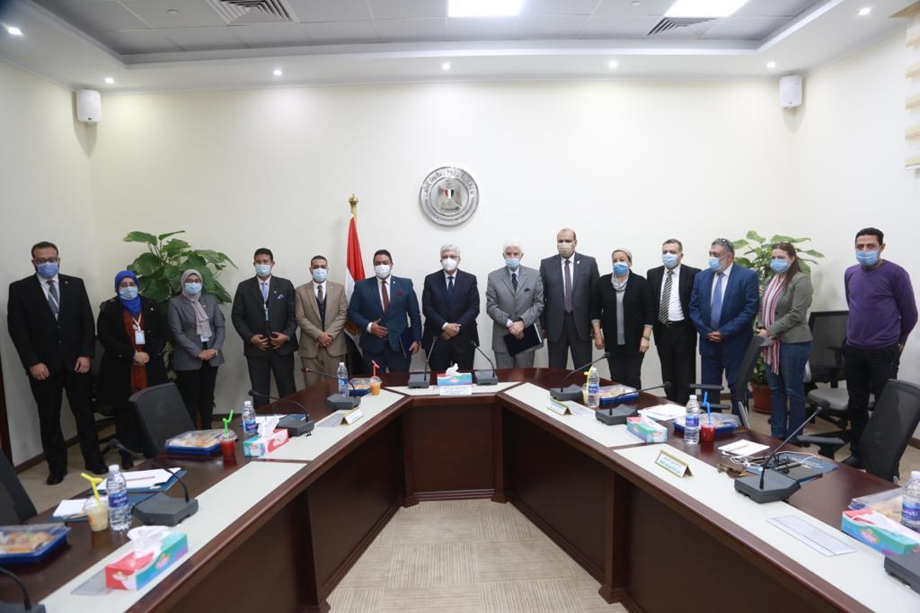 بروتوكول تعاون بين معهد إعداد القادة والاتحاد الرياضي المصري للجامعات