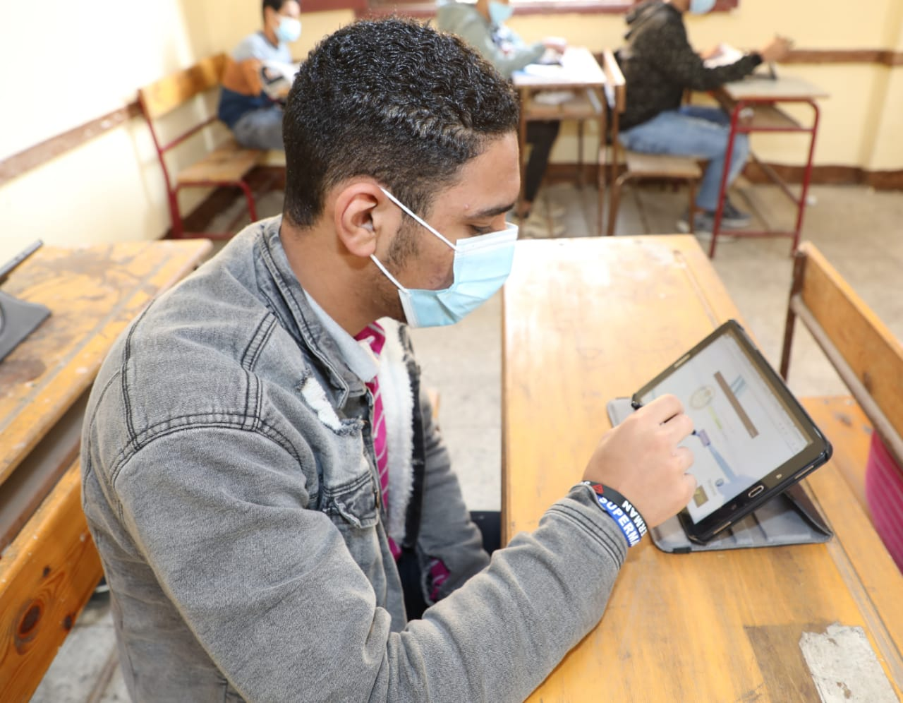 خطة استئناف الدراسة بمدارس المنوفية خلال الفصل الدراسي الثاني