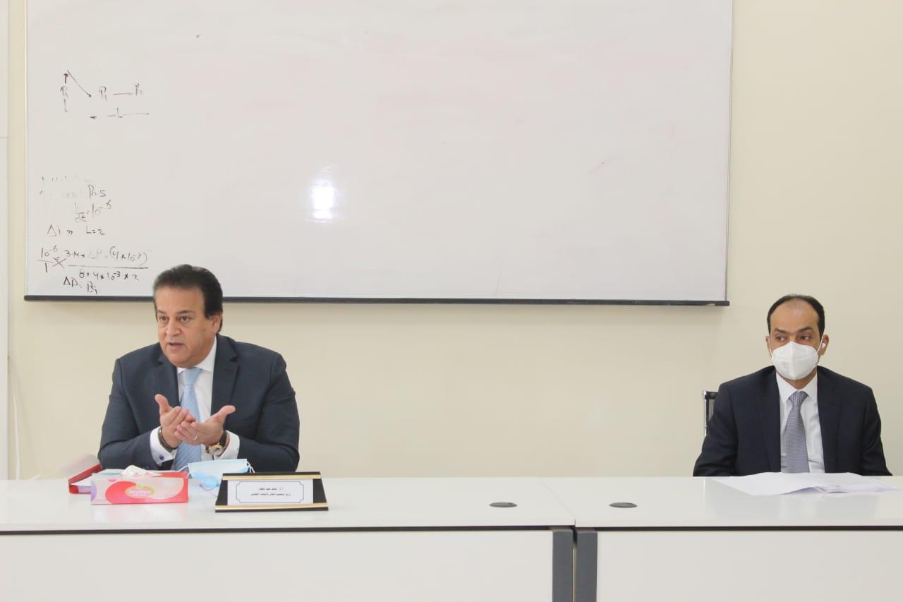 مجلس شئون المعاهد يناقش استعدادات امتحانات الفصل الدراسي الأول