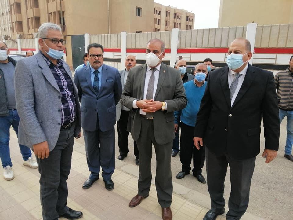 رئيس جامعة الأزهر يتفقد المدن الجامعية بمدينة نصر