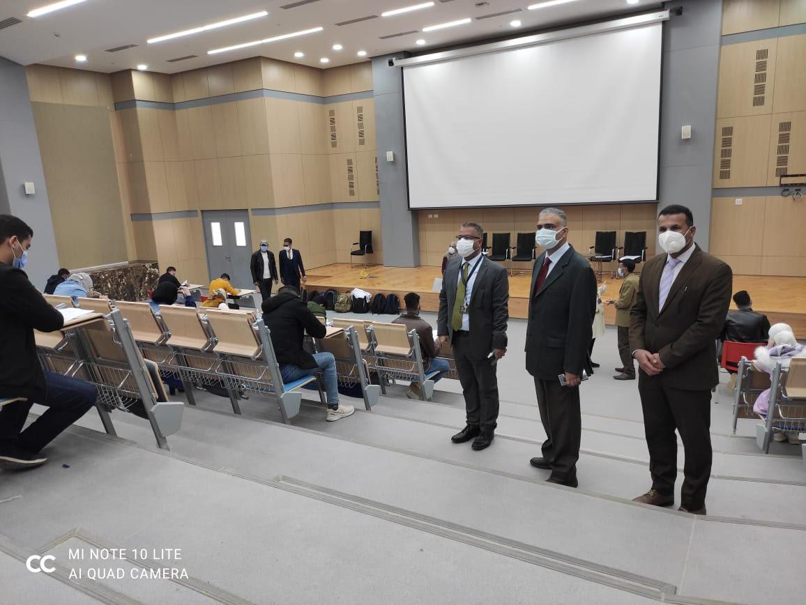 انطلاق الامتحانات بجامعة الملك سلمان الدولية الأهلية
