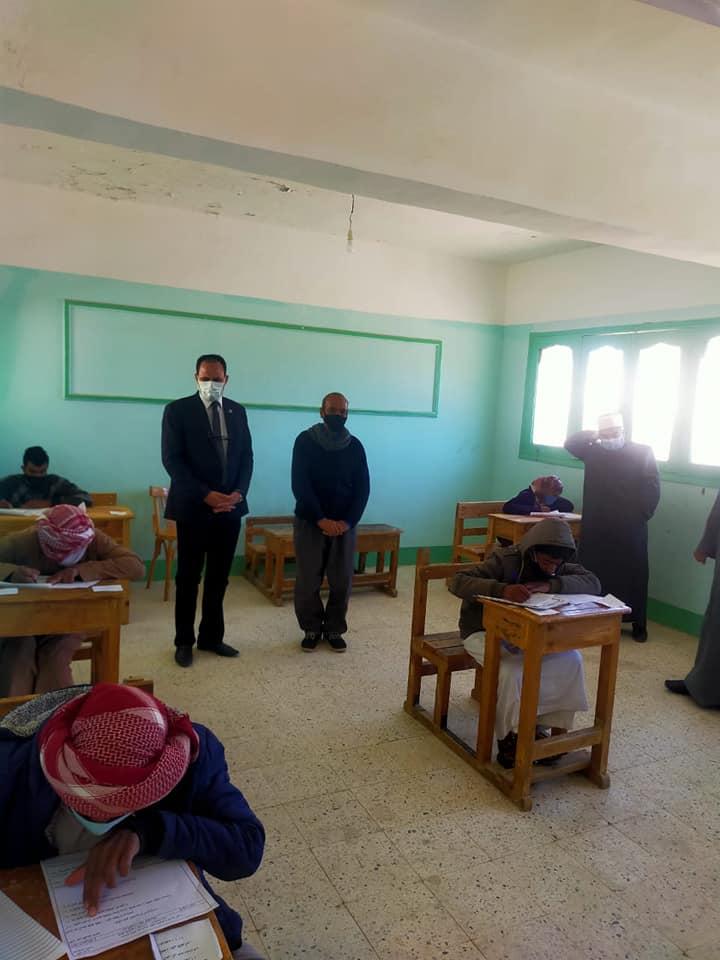 قطاع المعاهد الأزهرية يتابع سير الأمتحانات بمنطقة جنوب سيناء الأزهرية