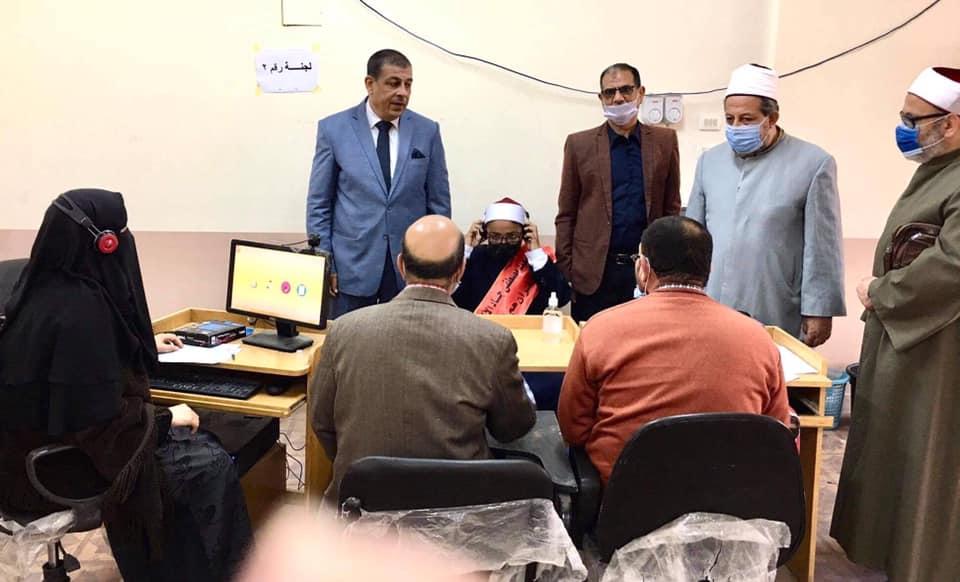 الوكيل الثقافي للإسكندرية يتفقد التصفيات النهائية لمسابقة القرآن الكريم