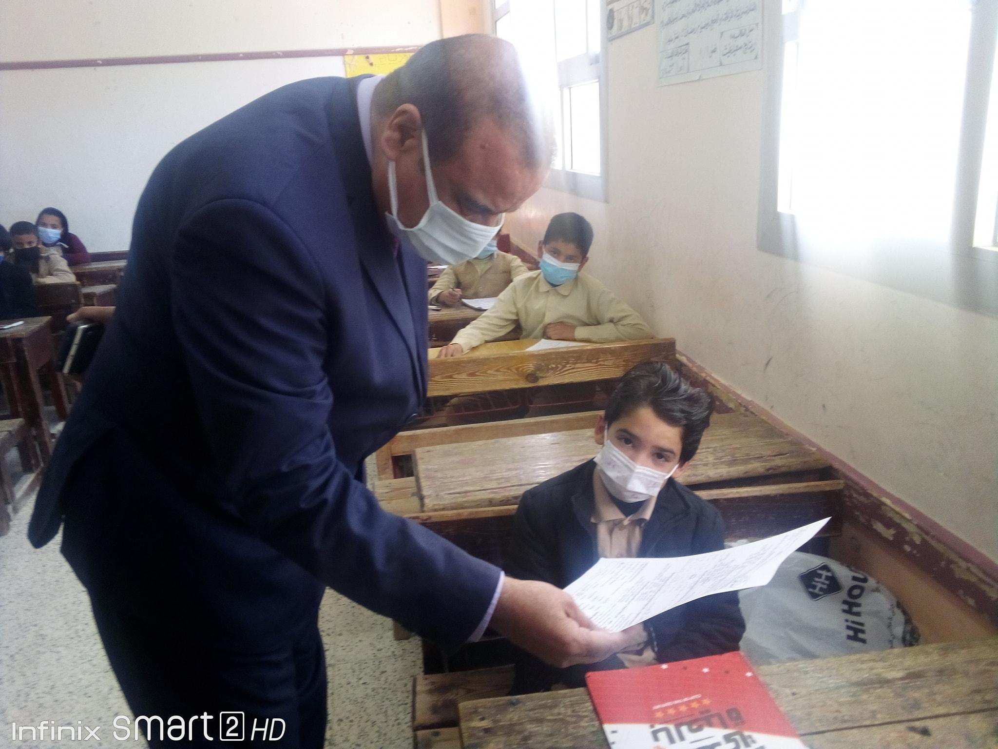 أمهات مصر يرصد مستوي امتحان الصفين الرابع الابتدائي والأول الإعدادي بالمحافظات