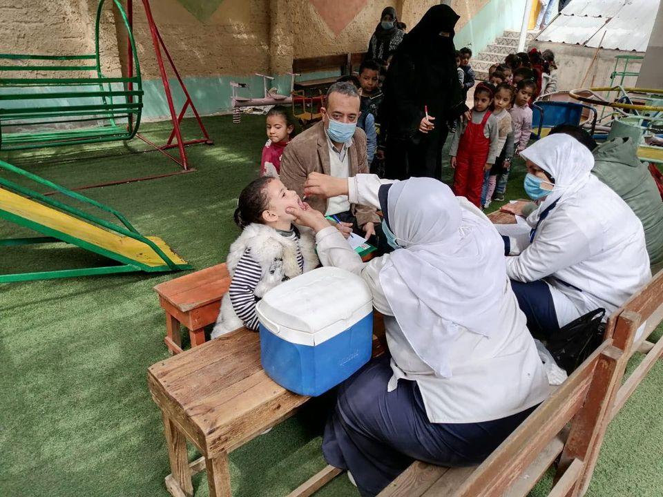 وزيرة الصحة: تطعيم 9 ملايين طفل خلال الحملة القومية الثانية للتطعيم ضد شلل الأطفال