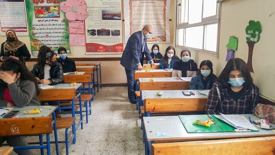 التعليم تعلن نسب مشاركة الطلاب في امتحانات مارس لصفوف النقل
