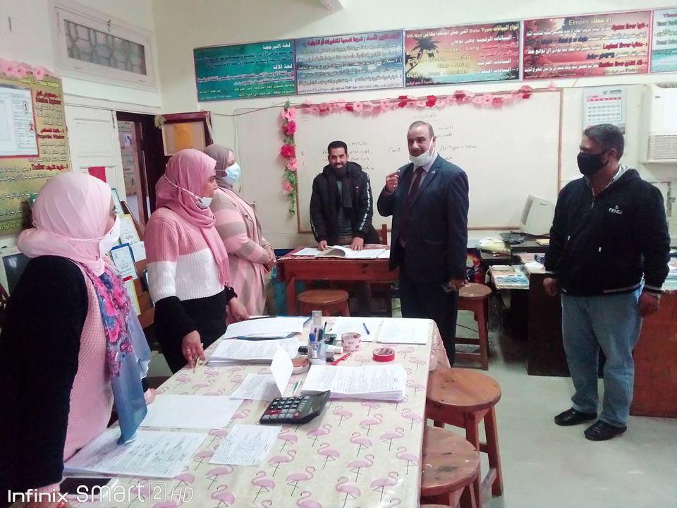 تعليم مطروح: متابعة ميدانية لرصد الانضباط بمدارس المحافظة وتقرير يومي عن سير الامتحان