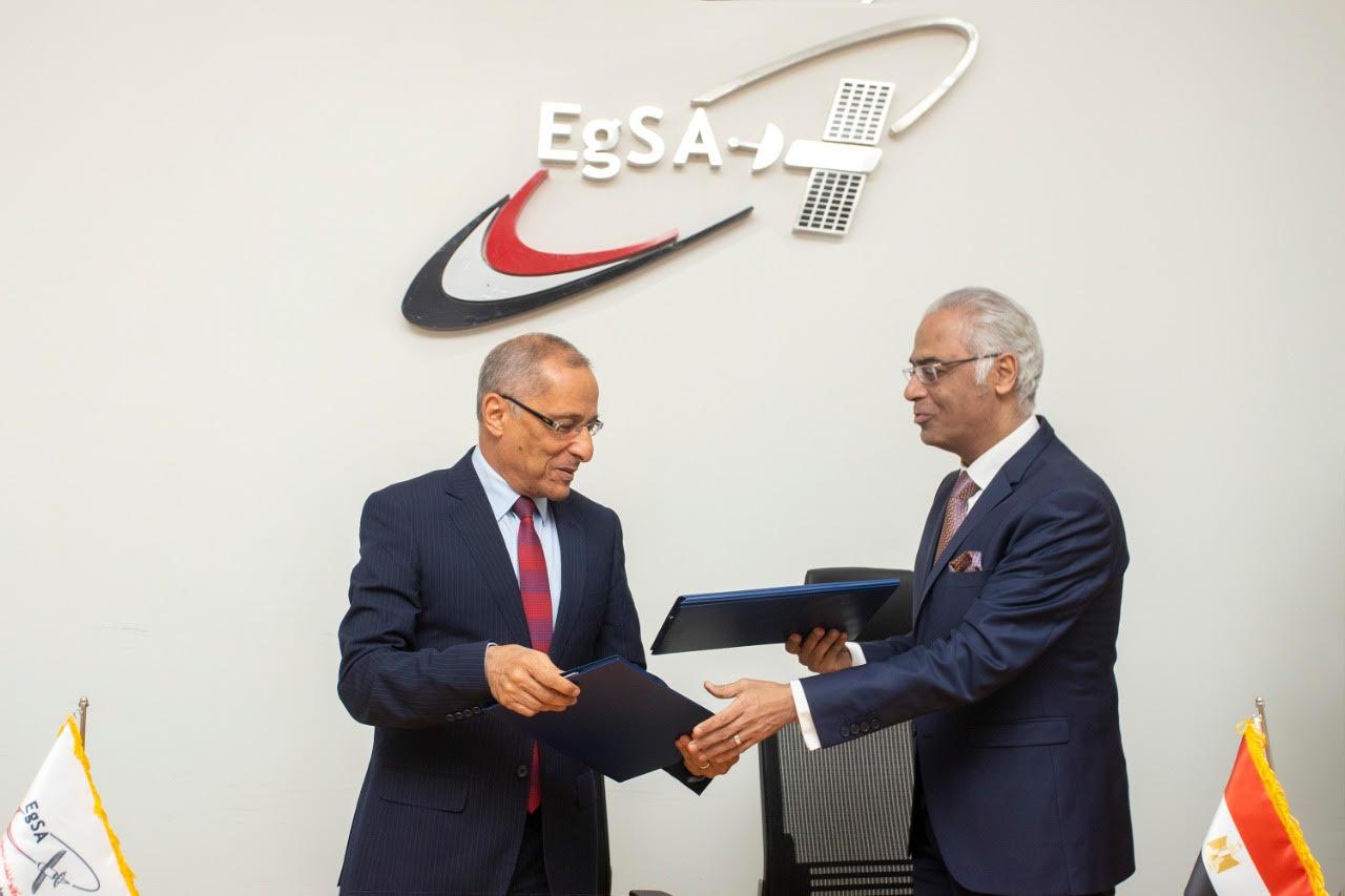 بروتوكول تعاون بين جامعة بورسعيد ووكالة الفضاء المصرية