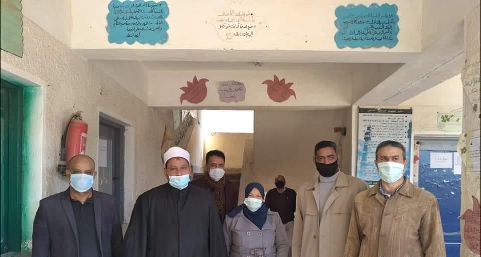 رئيس منطقة البحر الأحمر الأزهرية: الهدوء والانضباط يسود لجان امتحانات النقل